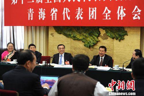 李克强:代表委员的建议要件件有落实(图)