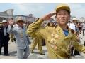 朝鲜老兵出席纪念朝鲜战争停战61周年活动