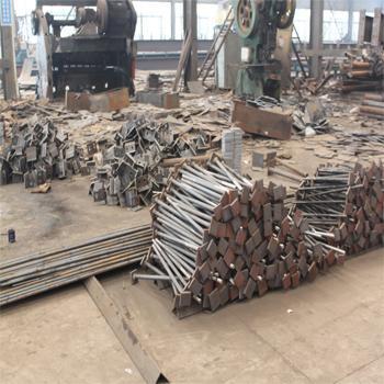 五彩湾铁件加工厂高强地脚螺栓预埋件