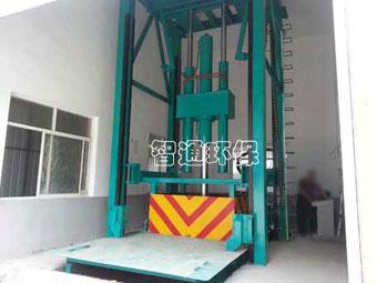 供应垂直垃圾压缩站成套设备,智通环保