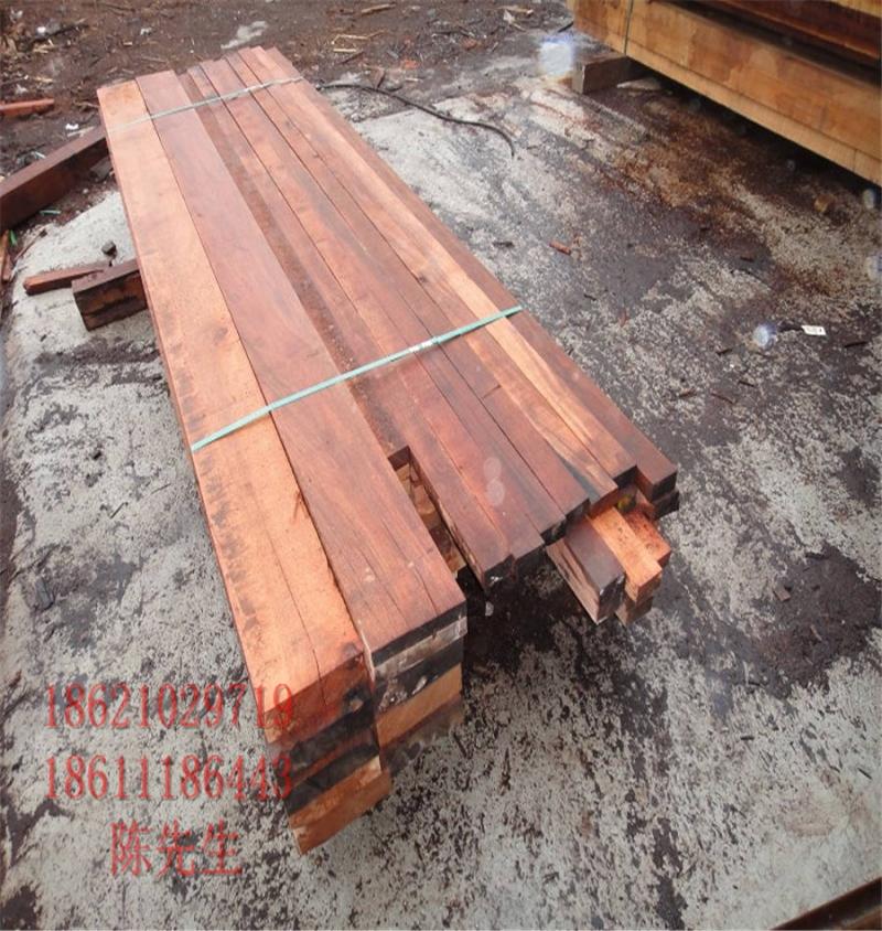 柳桉木户外地板装饰专用柳桉木开槽地板景观防腐加工三亚市批发