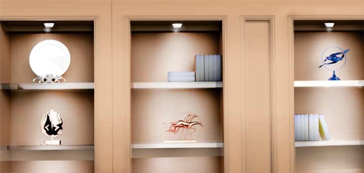 LED灯橱柜灯的照明效果