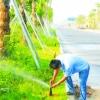 珠海公路绿化带喷灌系统