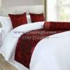 供应酒店床上用品|宾馆专用床尾巾|南通酒店布草厂家直销
