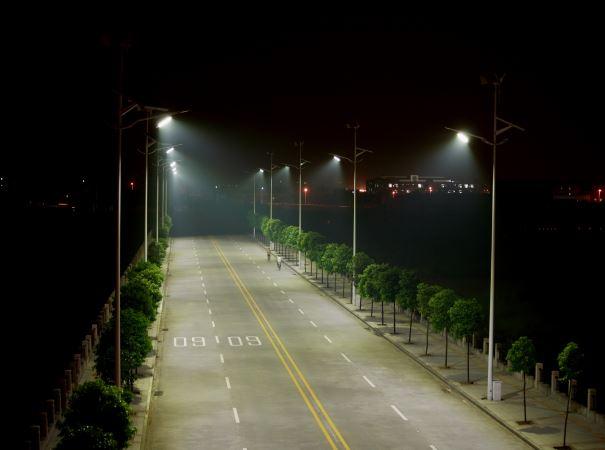 偃师新农村改建太阳能路灯