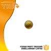 YHB正品 珍珠烫片  浅金色