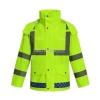 全新分体式反光雨衣 单警执勤安全雨衣报价