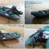 充气船PVC 双人船 钓鱼船充气船 充气皮划艇 漂流船