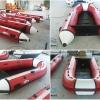 钓鱼专用充气船橡皮艇冲浪艇冲锋舟皮划艇