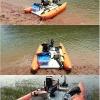RF450双体钓鱼船橡皮艇动力双体船多人钓鱼专用