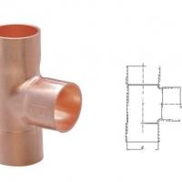 紫铜管件|紫铜T型三通|紫铜异径三通|广东紫铜三通厂家