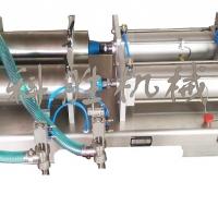 保定市科胜双头液体灌装机丨洗衣液灌装机|河北灌装机