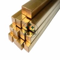 方棒厂家 h59黄铜方棒 实心 方铜条 方形铜棒 黄铜棒批发