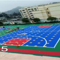 河北湘冠防滑悬浮拼装地板可以里使用吗?