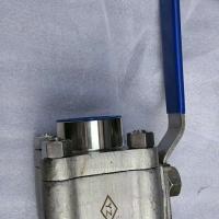 304不锈钢高压焊接球阀