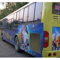 济南公交车内移动视频电视广告