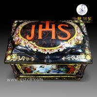 骨灰盒图案雕刻  厂家批发制作骨灰盒