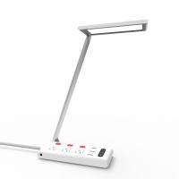 Jasional_ZW12桌面排插LED台灯QC3.0快充
