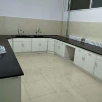 三聚氰胺板-实验室中央实验台边台 全木实验台安装