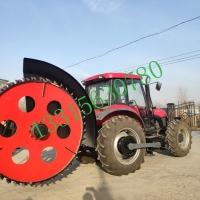 圆盘式开沟机拖拉机圆盘式挖沟工程挖沟开槽机厂家供应