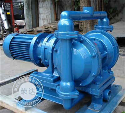 DBY电动隔膜泵 隔膜式油漆泵 甲醇泵