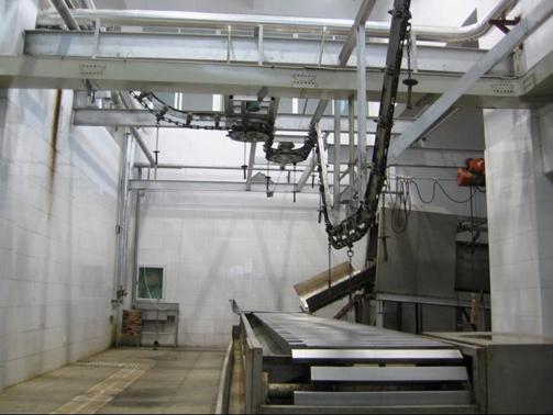 广源屠宰机械专业生产屠宰设备 放血输送线