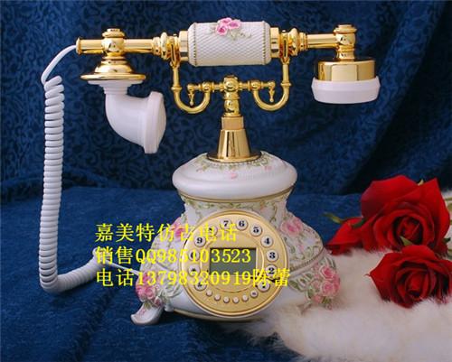 供应陶瓷仿古电话 欧式仿古电话 现代仿古电话