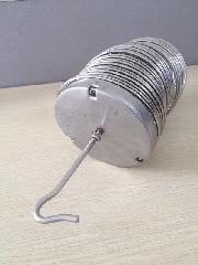 佛山120*2000圆袋形弹簧骨架|除尘器弹簧袋笼厂家