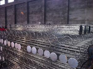 河北乔达环保厂家批发镀锌除尘骨架 滤袋笼架