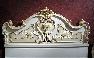 白雪公主高档欧式实木床厂家直销1.8米卧室双人床真皮软床批发