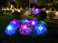 徇丽多彩的发光伞 LED伞