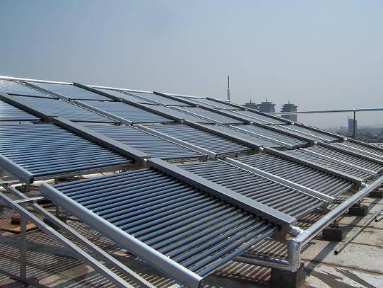 工地企业员工宿舍安装太阳能热水系统找欧贝