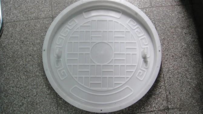 圆井井盖塑料模具-窖井井盖塑料模具