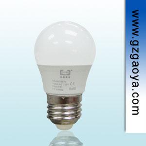 E27螺口 3W 高亮度 超长使用寿命LED节能灯泡