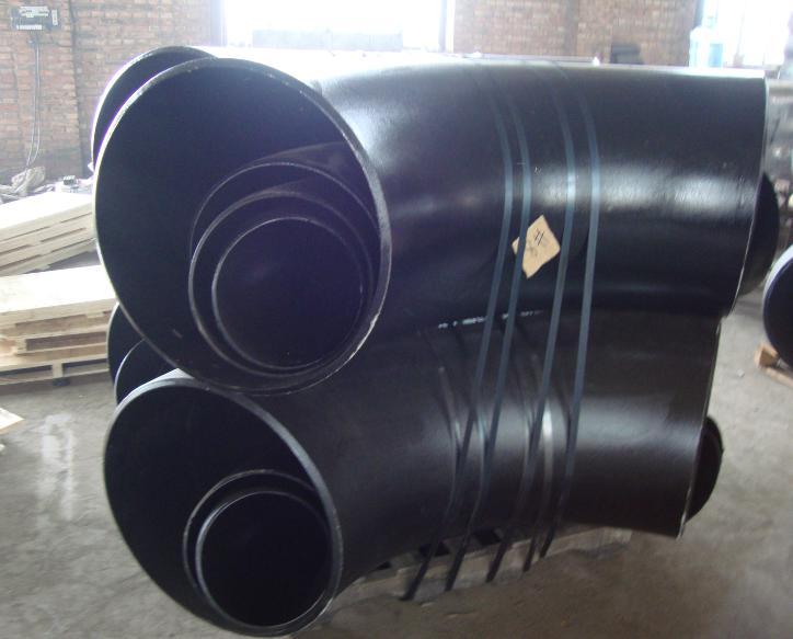 碳钢弯头 法兰 三通 异径管的厂家河北乾胜管道