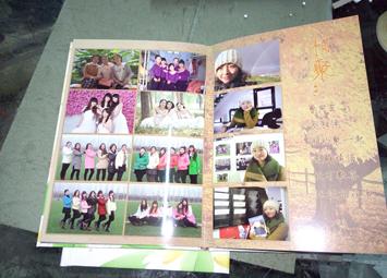 开封毕业爱情纪念册制作焦作同学聚会录通讯录印刷装订