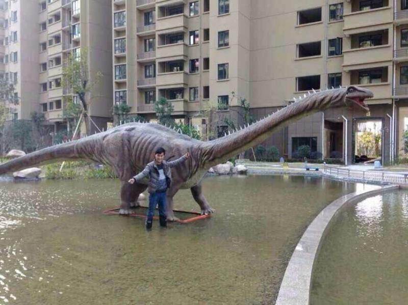 武汉12米蜿龙8米霸王龙仿真大型恐龙蜡笔小新展览租赁71