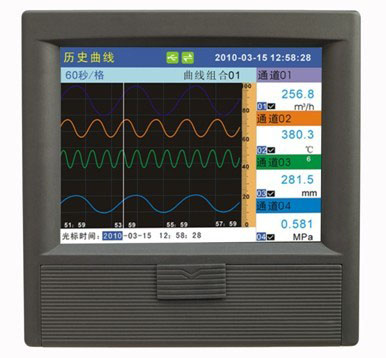 KT600P彩屏无纸记录仪
