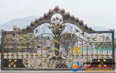 苏州铁艺防护栏加工安装
