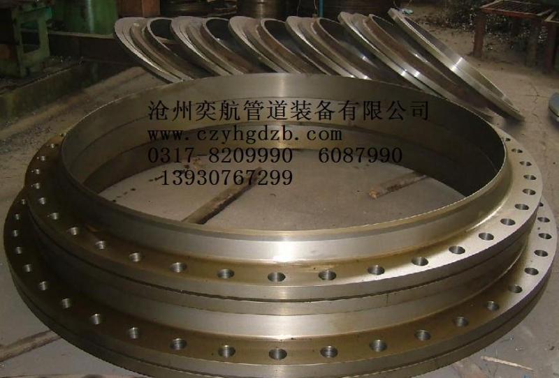 河北供应锻造法兰高压合金法兰锻打圆钢对焊法兰带颈平焊法兰