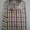 短袖格子衬衫