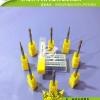 鸿起供应LKT镀钛球型铣刀 优质钨钢铣刀