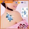 东宏彩色玫瑰纹身贴防水女手术遮疤痕贴竖刀剖腹产刺青贴纸
