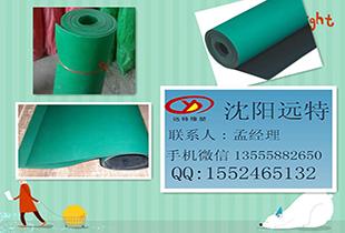 辽宁大连防滑防静电橡胶板 耐酸碱橡胶板厂家鞍山绿色绝缘橡胶板