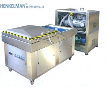 福田茶叶真空包装封口机,佛山罗博派克自动外抽式真空包装机