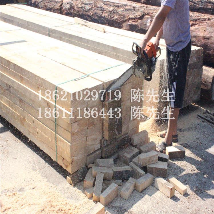 白松防腐木板材加工白松防腐木方木景观凉亭专用立柱宁波价格