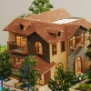 重庆别墅模型制作公司-景观模型制作设计
