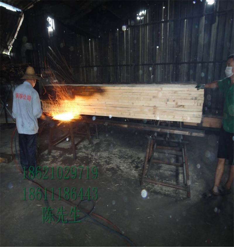樟子松碳化木方木订做150*150立柱碳化木凉亭专用工厂供应