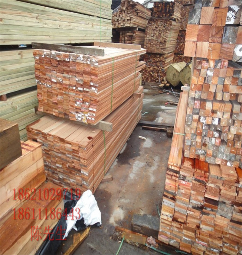 非洲菠萝格板材非洲菠萝格地板户外菠萝格防腐木厂家供应