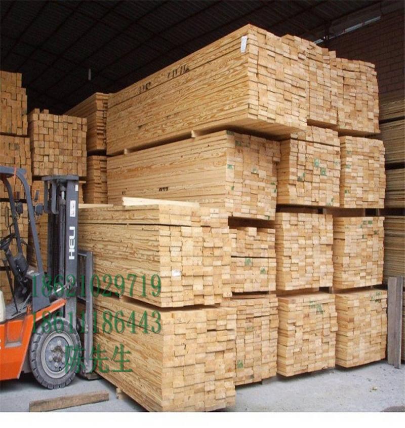 铁杉木方35*85尺寸工程建筑西安报价